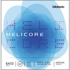 Daddario HS610-3/4M Helicore Bass 3/4