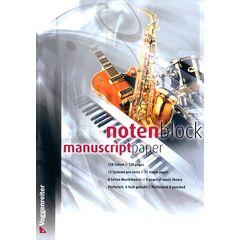 Voggenreiter Notenblock Music Paper A4