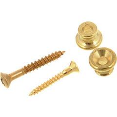 Gibson Strap Button Brass
