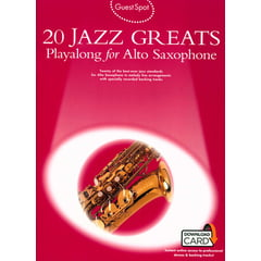 Wise Publications 20 Jazz Greats (Alto-Sax)