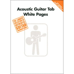 Hal Leonard White Pages Acoustic Guitar