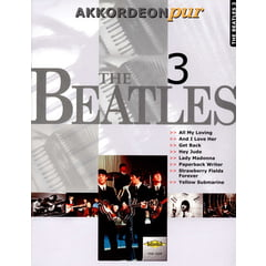 Holzschuh Verlag Accordion Pur Beatles 3