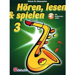 De Haske Hören Lesen Schule3 (Alto Sax)