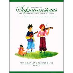 Bärenreiter Sassmannshaus Anfang Geige 3