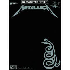 Music Sales Metallica Black Album Bass