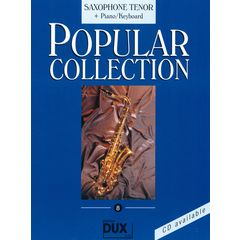 Edition Dux Popular Collection 8 (T-Sax+K)