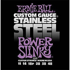 Ernie Ball 2245 Stainless Power