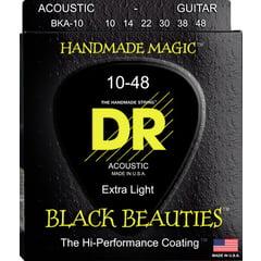DR Strings Black Beauties BKA- 10