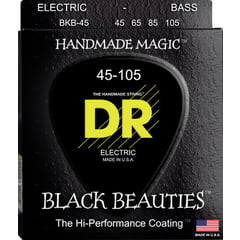 DR Strings Black Beauties BKB-45