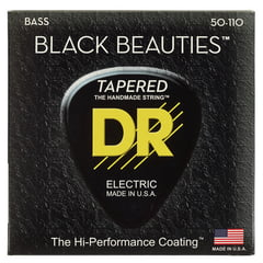 DR Strings Black Beauties BKBT-50