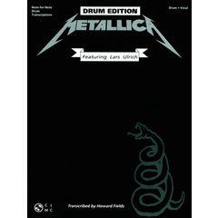 Music Sales Metallica Black Album Drums