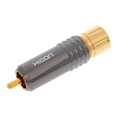 Hicon HI-CM-18-NTL RCA Connector