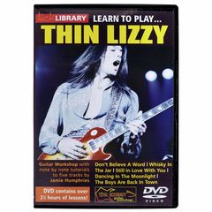 Roadrock International Learn to Play Thin Lizzy (DVD)