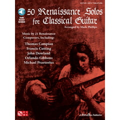 Cherry Lane Music Company 50 Renaissance Solos Guitar