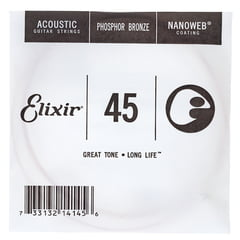 Elixir .045 Western Guitar