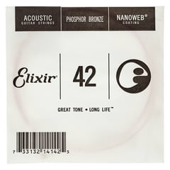 Elixir .042 Western Guitar Ph.