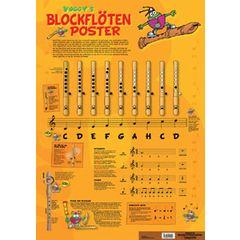 Voggenreiter Blockflöten-Poster