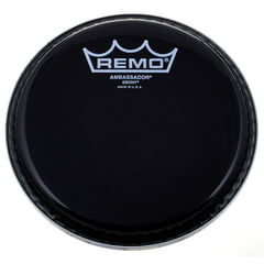 "Remo 26"" Ambassador Ebony Bass Drum"