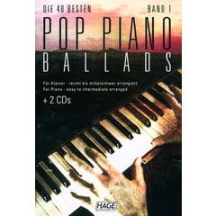 Hage Musikverlag Pop Piano Ballads
