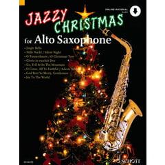 Schott Jazzy Christmas for Alto Sax