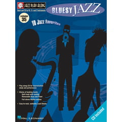 Hal Leonard Jazz Play-Along Bluesy Jazz