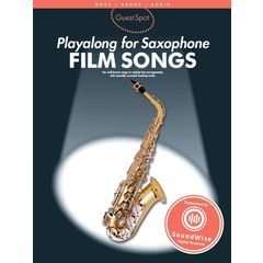 Wise Publications Guest Spot Film Songs (Sax)