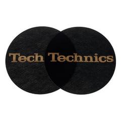 Technics Slipmat Black/Gold Logo