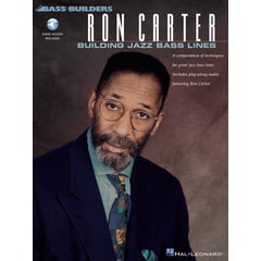 Hal Leonard Ron Carter Building Jazz Bass