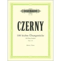 C.F. Peters Czerny 100 leichte Übungsstück
