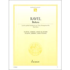 Schott Ravel Bolero (Fl)