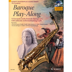 Schott Baroque Play-Along A-Sax