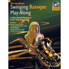 Schott Swinging Baroque Play A-Sax
