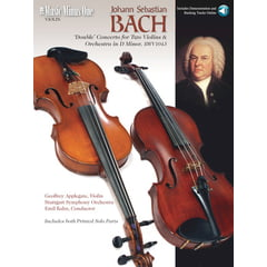 Music Minus One Bach Concerto BWV1043 Violin