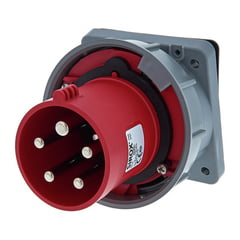 PCE CEE-Mounting Plug 63A angled