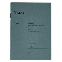 Henle Verlag Notes Jotter A6