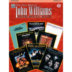 Alfred Music Publishing Best of John Williams Alto Sax