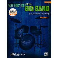 Belwin Jazz Sittin' In With Big Band Drums