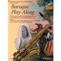 Schott Baroque Play-Along T-Sax