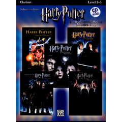 Alfred Music Publishing Harry Potter Clarinet