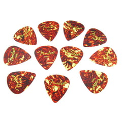 Fender Cl. Celluloid Pick Shell T 12