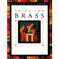 Edition Musica Budapest Trios for Brass