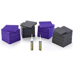 Auralex Acoustics Roominators D 36-DST Purple