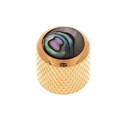 Q-Parts Mini Dome Potiknob Abalone GD