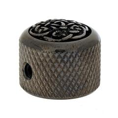 Q-Parts Dome Potiknob Celtic Weave B