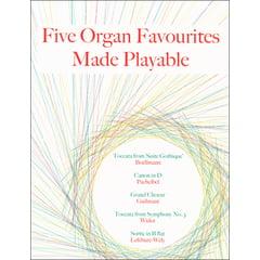 Schott Five Organ Favourites