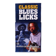 Bosworth Flashcards Blues Licks German