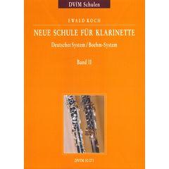 Deutscher Verlag für Musik Neue Schule für Klarinette 2