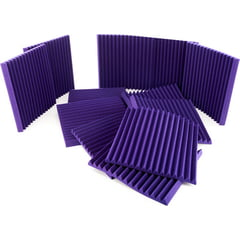 "Auralex Acoustics 2"" Studiofoam Wedges Purple"