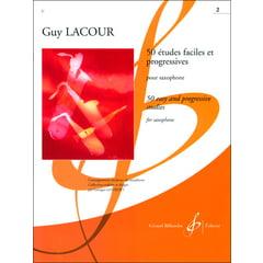Editions Billaudot 50 Etudes Faciles (Sax) 2
