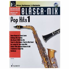 Schott Bläser-Mix Pop Hits Vol.1 Eb